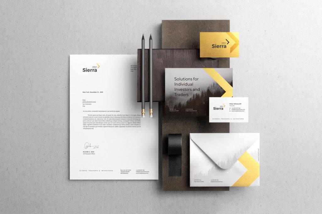 企业品牌VI展示PSD样机贴图模版Sierra Branding Mockup Kit