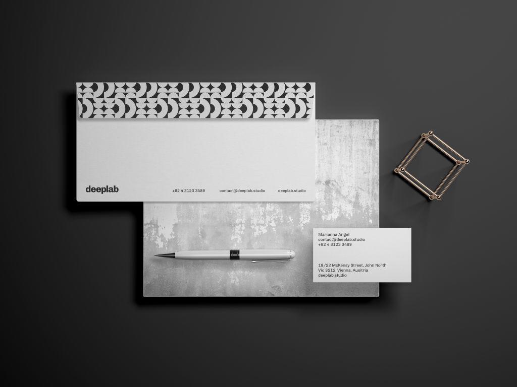 优质办公文具品牌VI视觉PSD样机贴图模版Elegant Stationery Branding Mockup