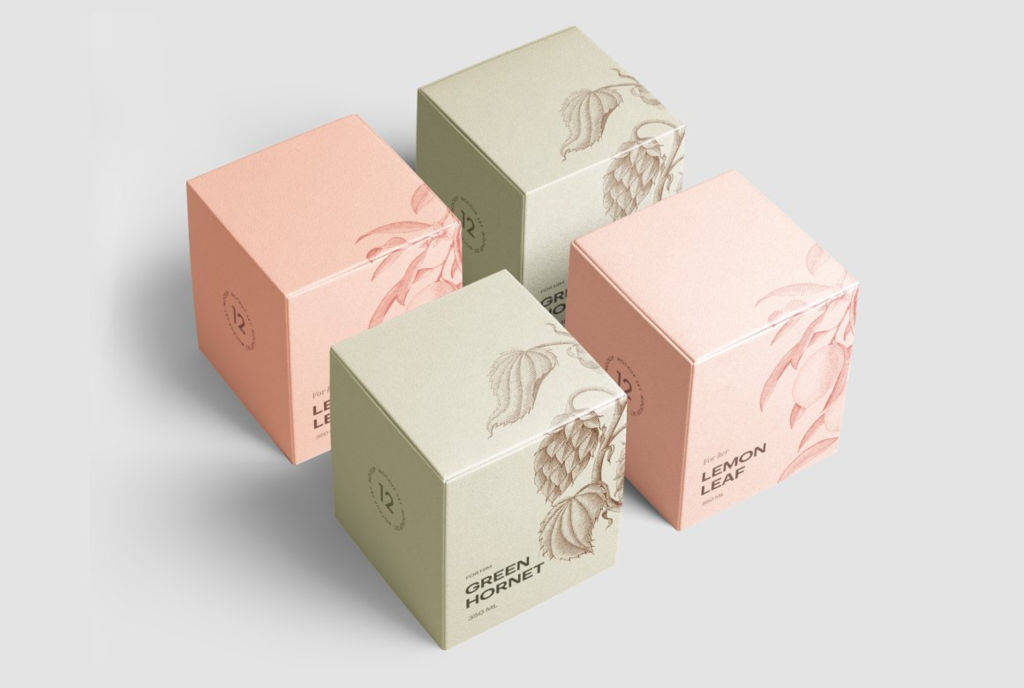 多角度真实质感包装纸盒样机PSD分层贴图模版Box Mockup Vol.3