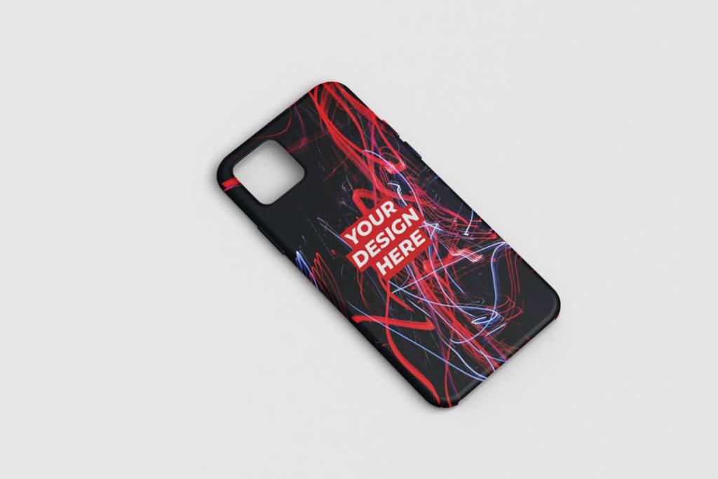 苹果手机智能手机壳样机效果图ps素材模板Phone Case Mockup Photoshop Template