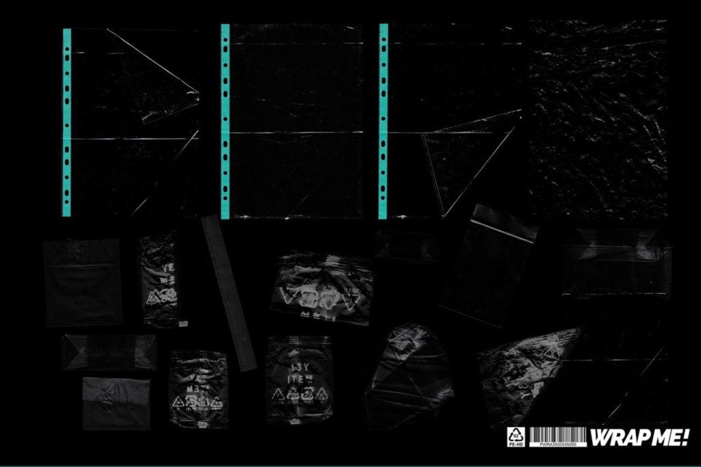 潮流塑料褶皱铝箔背景元素合集 Wrap Me 33 Ultimat _Textures Pack