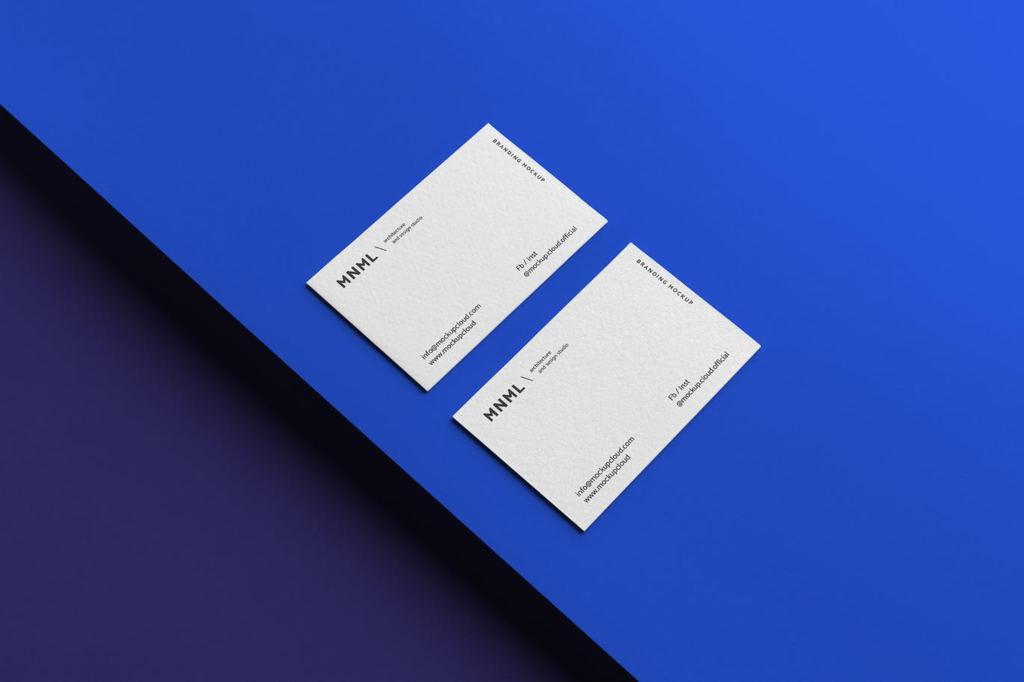 高端企业品牌VI样机商务名片展示ps素材贴图模板mnml branding mockups vol 2