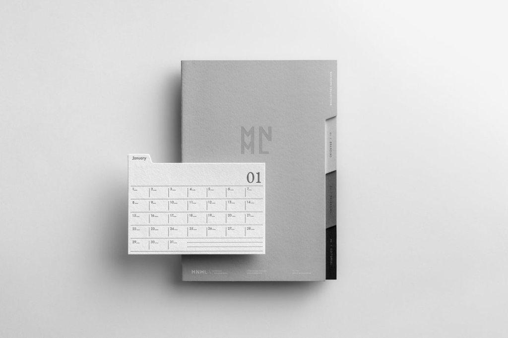 企业品牌设计VI样机办公用品展示ps素材贴图模板mnml branding mockups vol 3