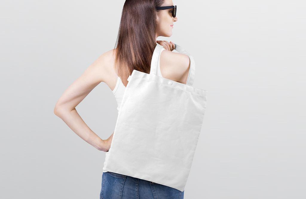 自定义多场景手提袋布袋样机ps贴图模板合集TOTE BAG MOCKUP BUNDLE – PACK