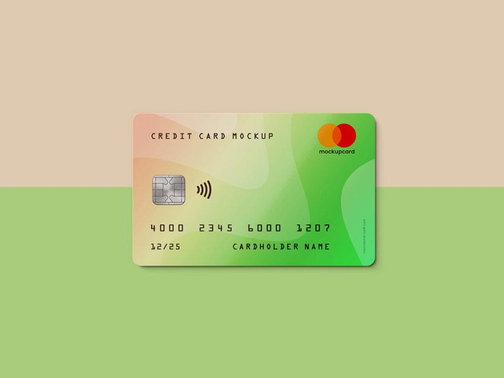 超逼真信用卡/会员卡卡片样机ps素材智能贴图模板 Credit Card / Membership Card MockUp