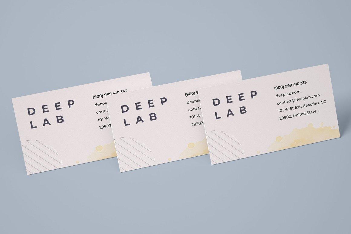 多角度商务名片样机ps素材智能贴图模板Business Card Mockup Set