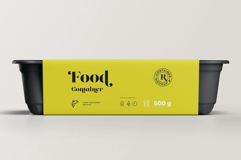 餐盒自嗨锅快餐包装盒样机ps素材贴图 Food Container Mock-up 3