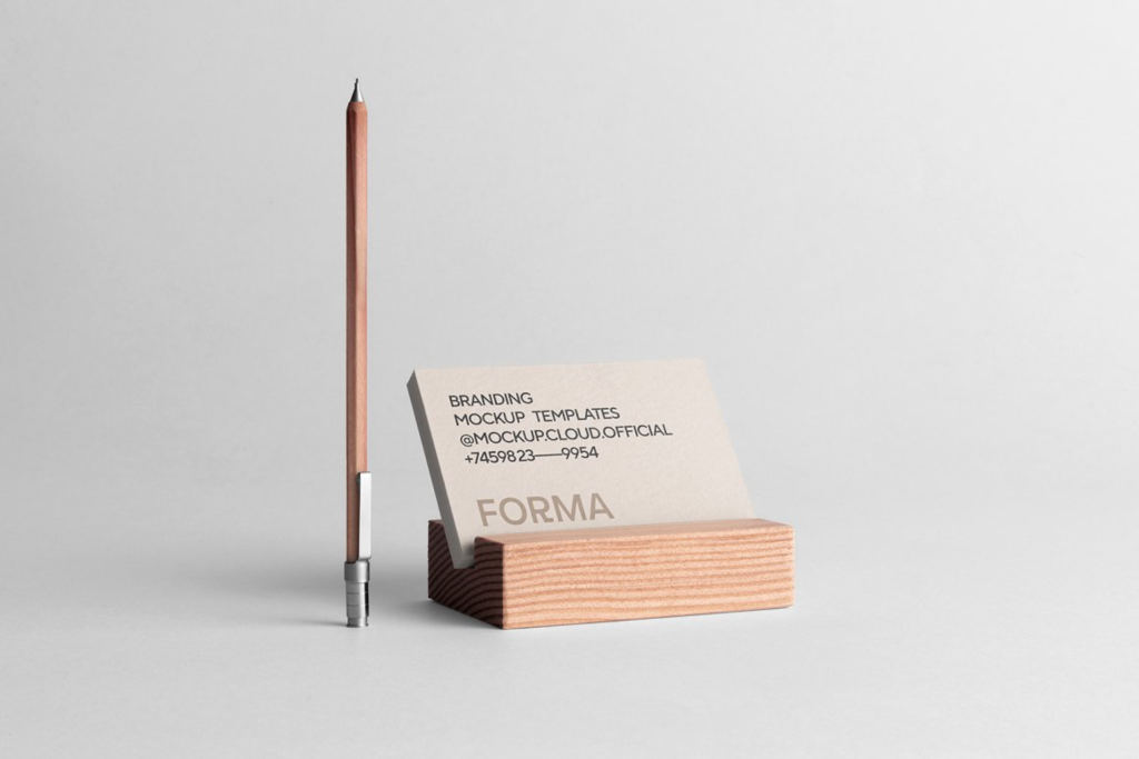 高端质感办公用品画册名片品牌VI样机ps贴图 Forma Branding Mockup Kit