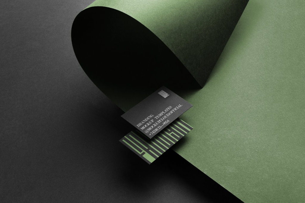 品牌VI办公用品高端名片样机ps素材贴图Farsight Branding Mockups